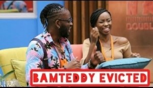 Video: BB Naija - Bambam And Teddy A Evicted From The Big Brother House